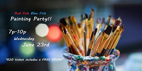Painting Party @ Red Fish Blue Fish tickets