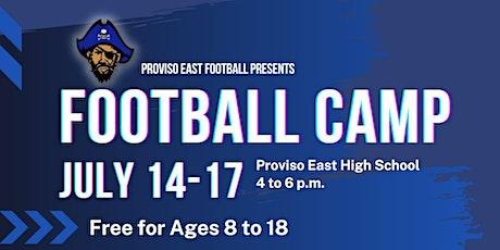 Proviso East Football Camp tickets