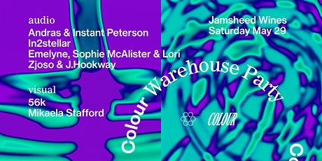 Colour Warehouse Party - Jamsheed Winery tickets