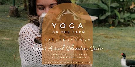 Yoga on the Farm tickets