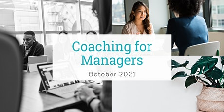 Coaching for Managers Workshop - October 2021 tickets