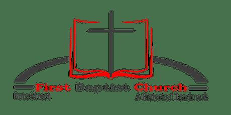 The Historic First Baptist Church Norfolk, Inc. tickets
