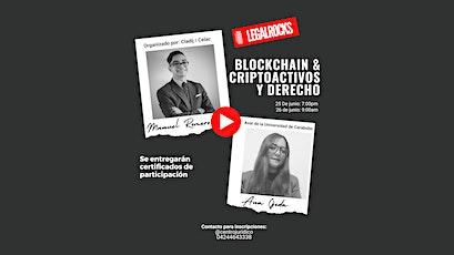 Blockchain & Criptoactivos y Derecho tickets