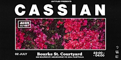 Cassian — Melbourne tickets