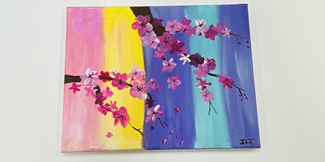 Cherry Blossom Painting- Hilo tickets
