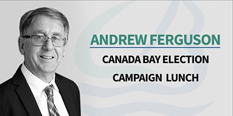 Andrew Ferguson Canada Bay Council Election Lunch tickets