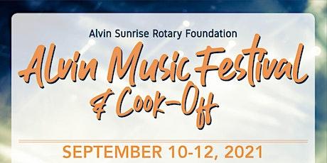 Alvin Music Festival 2021 tickets