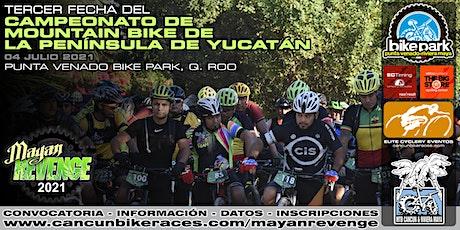 3er Fecha del Campeonato de Mountain Bike de la Península de Yucatán boletos