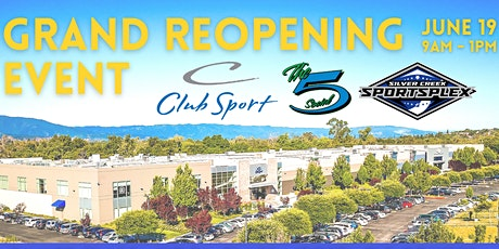 Grand Re-Opening Day tickets