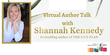 Virtual Author Talk with Shannah Kennedy tickets