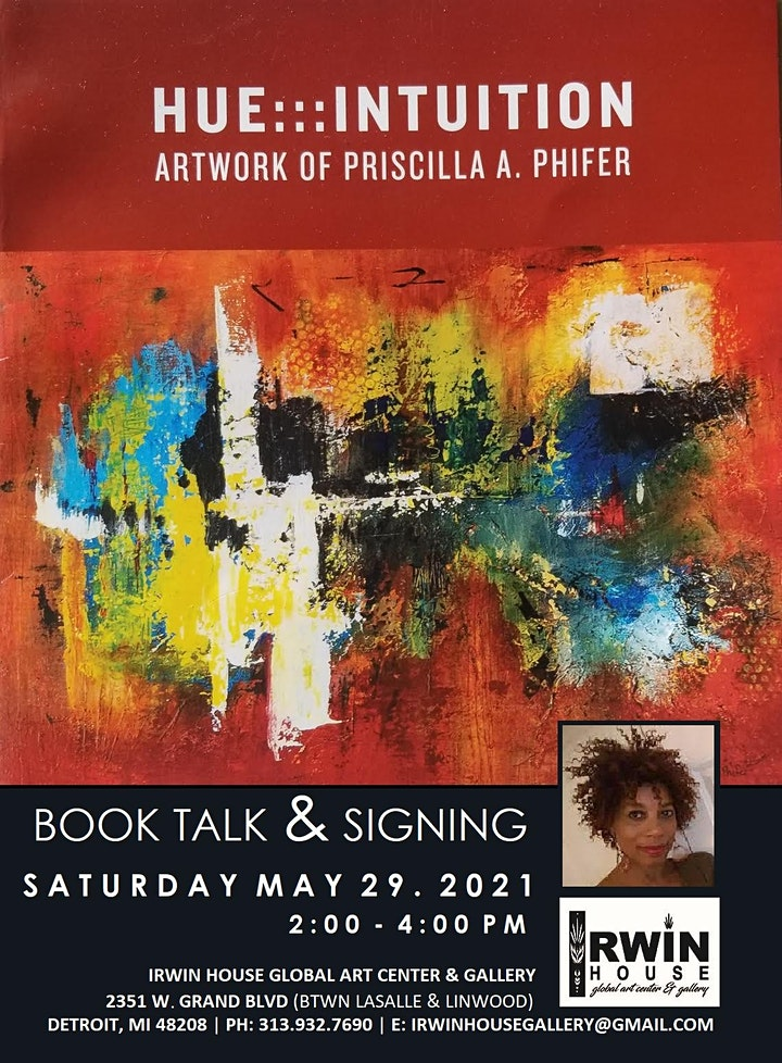 HUE:::INTUITION Book Talk & Signing with Priscilla Phifer image