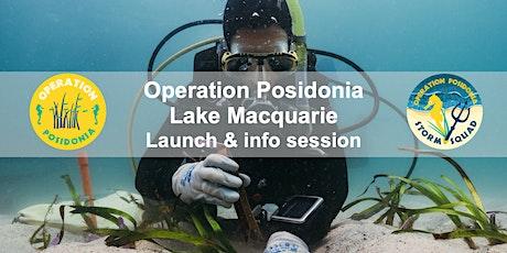 Operation Posidonia Lake Macquarie Launch tickets