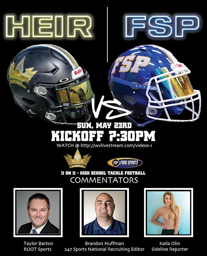 FSP vs HEIR (HS Super Bowl) image