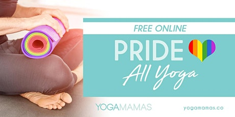 FREE ONLINE: Pride - All Yoga tickets