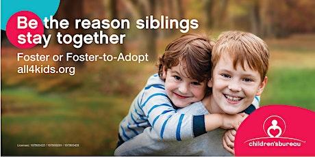 Virtual Orientation Foster Care & Adoption July 15th (Carson, CA) tickets