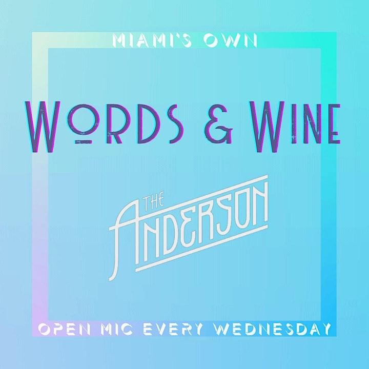 Words & Wine : Open Mic image