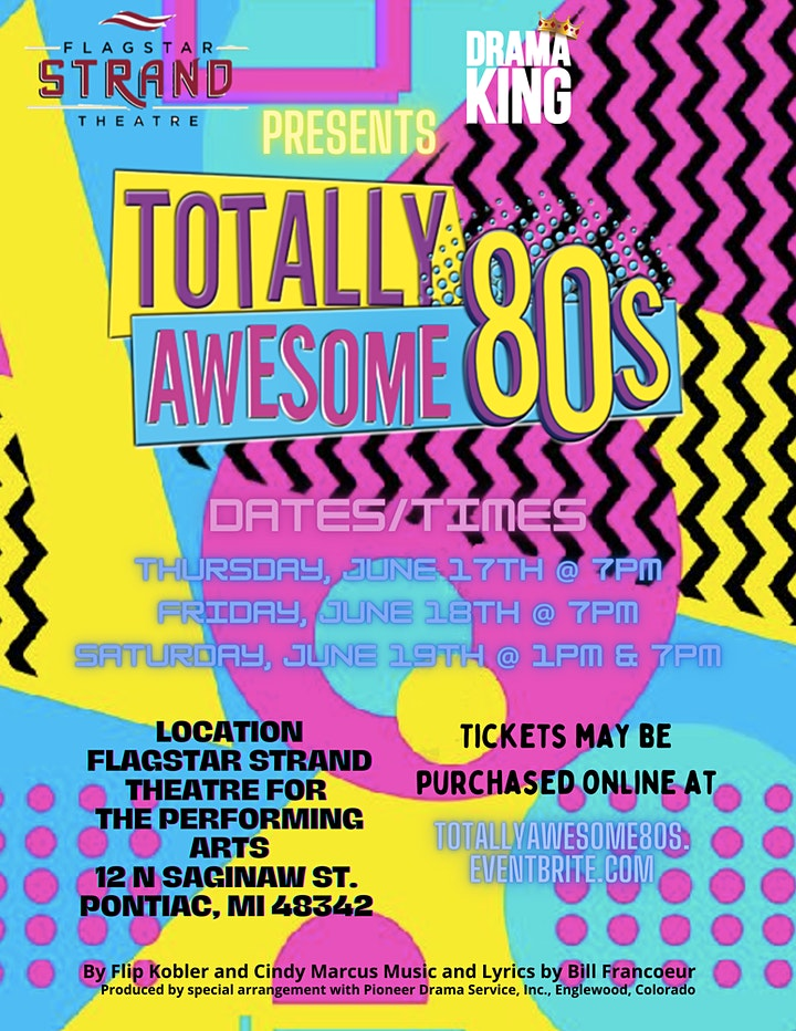 Totally Awesome 80s Performances image
