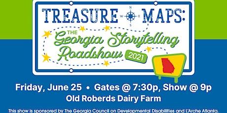 Treasure Maps: The Georgia Storytelling Roadshow ~ Savannah Night! tickets