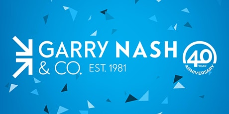 Garry Nash & Co. 40 Year Anniversary Celebration tickets