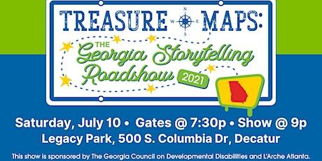 Treasure Maps: The Georgia Storytelling Roadshow ~ Atlanta Night! tickets