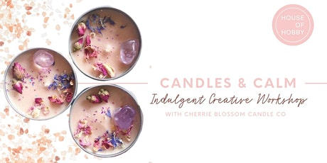 Candles and Calm - Relaxing creative workshop tickets