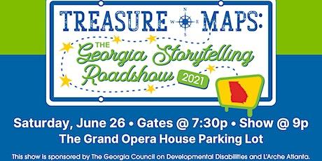 Treasure Maps: The Georgia Storytelling Roadshow ~ Macon Night! tickets