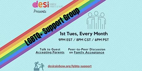 Desi Rainbow LGBTQ+ Support Group tickets