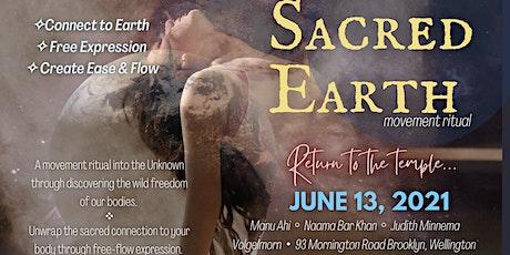 Sacred Earth  Movement Ritual tickets