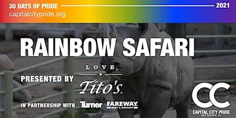 Rainbow Safari tickets