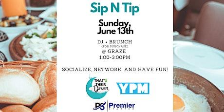 Sip N Tip tickets