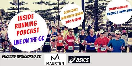 Inside Running Podcast - Live on the GC tickets