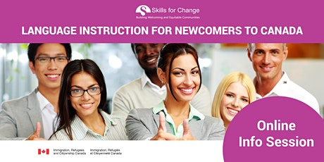 *Online Information and Recruitment session - Language for Newcomers (LINC) tickets