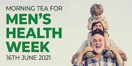 Morning Tea for Men's Health Week tickets