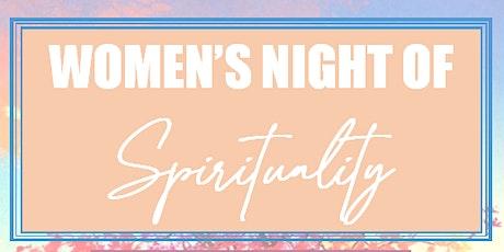 Women's Night of Spirituality tickets