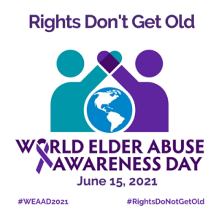 Kerby Presents World Elder Abuse Awareness - Rights Don't Get Old image