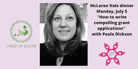 McLaren Vale dinner - Women in Business Regional Network - Monday  5/7/2021 tickets