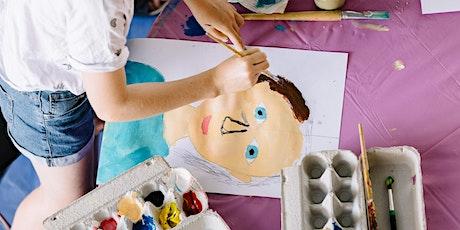 Big Voices: children's picture diaries portrait workshop tickets