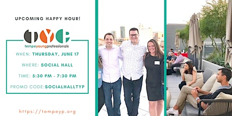 TYP June Happy Hour Mixer at Social Hall tickets