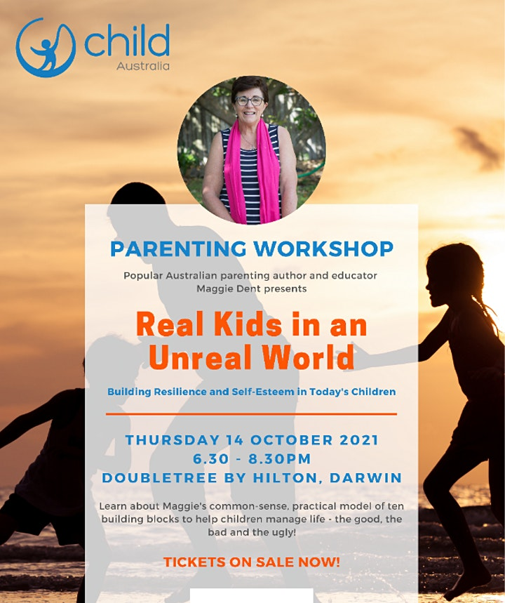 PARENT EVENT: Maggie Dent's 'Real Kids in an Unreal World' image