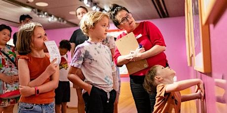 Big Voices: children's art matters family curator tour tickets