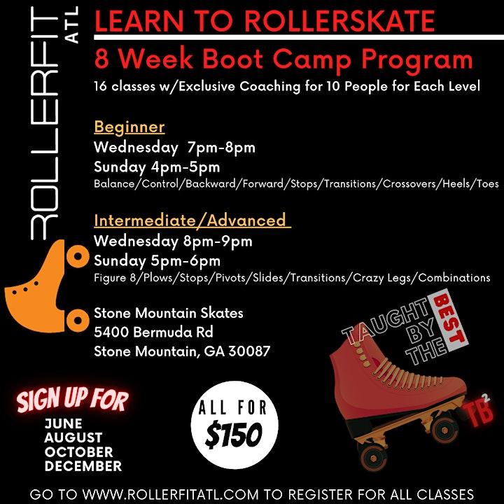 Learn to Skate Boot Camp Program - Beginner - December image