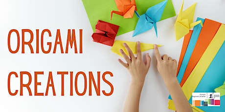 Origami Creations - Tin Can Bay Library tickets