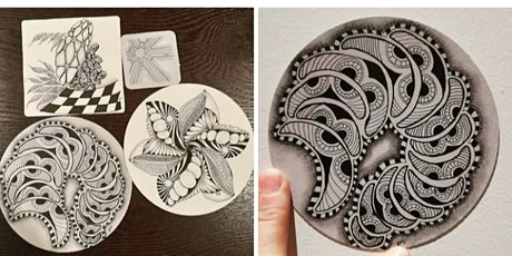 An Introduction To Zentangle  - Geraldton tickets