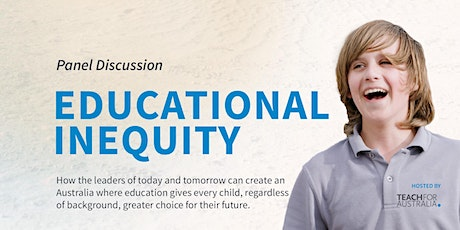 Educational Inequity Panel Discussion tickets