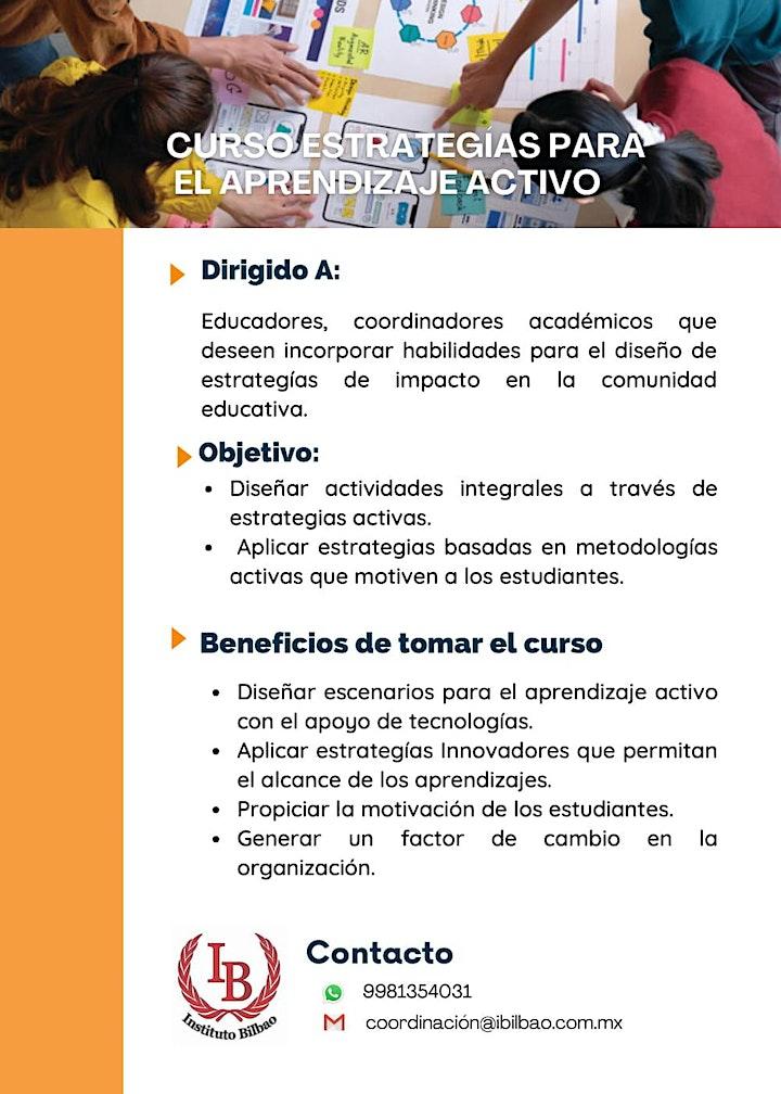 Imagen de Curso: Estrategias para el aprendizaje activo
