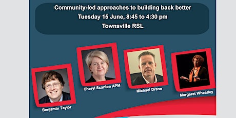 Community-led approaches to building back after COVID 19 (Townsville) tickets