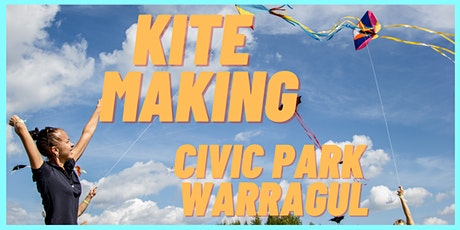 Kite Making with Warragul Library - School Holiday activity tickets