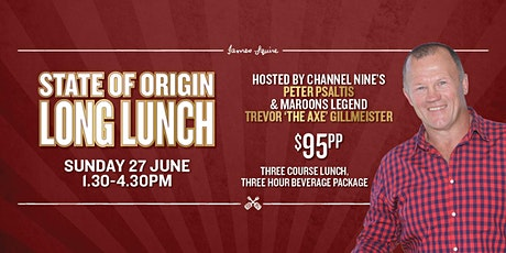 State Of Origin Long Lunch tickets