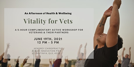 Vitality for Vets: June 2021 tickets