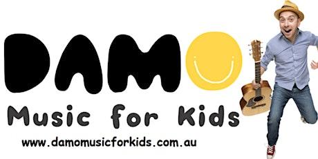 Damo for Kids Warragul Library tickets